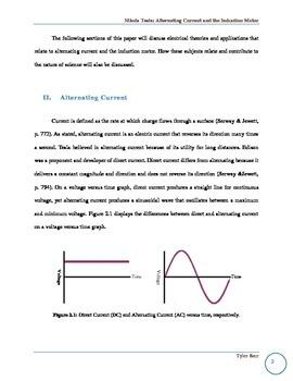 Nikola Tesla Research Paper