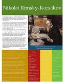 Nikolai Rimsky-Korsakov Composer Sheet