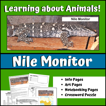 Nile Monitor - Learning About Animals Unit