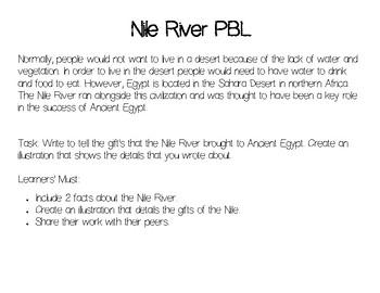Nile River PBL