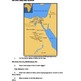 Nile River Valley Map with Key (Ancient Egypt)
