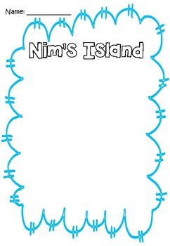 Nim's Island Activity Booklet