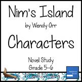 Nim's Island Characters