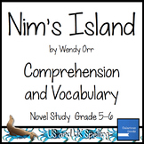 Nim's Island Comprehension and Vocabulary