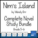 Nim's Island Novel Study Bundle