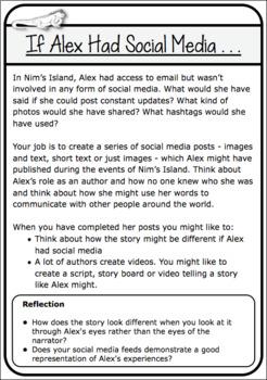 Nim's Island Novel Study Sample Pack