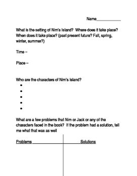 Nim's Island Plot Assessment