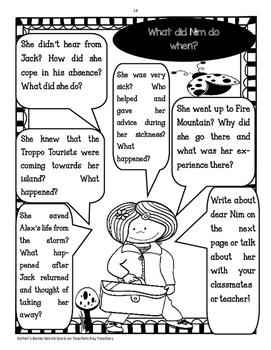 Nim's Island Novel Study