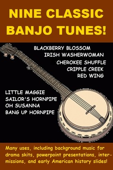 Nine Classic Banjo Tunes