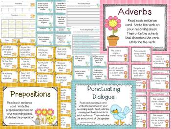 Nine Literacy Activities for Bigger Kids (Spring Theme)