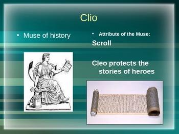 Nine Muses in Greek Mythology