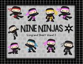 "Nine Ninjas (Long and Short Vowel ""i"" Words)"