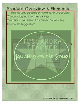 Nine Novelty Activities for December
