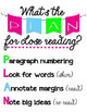 Nine Posters: an annotation PLAN for Close Reading