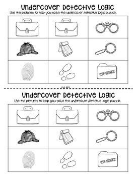 Nine Square Logic Puzzles