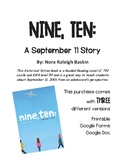 Nine, Ten: A September 11 Story Book Study (Printable and