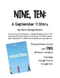 Nine, Ten: A September 11 Story Book Study (Printable and