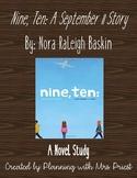 *NOVEL STUDY* Nine, Ten: A September 11 Story