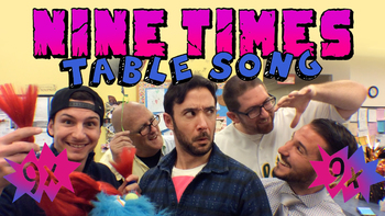Nine Times Table Song (90's Mashup!)