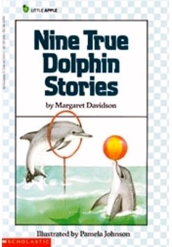 """""""Nine True Dolphin Stories"""" Comprehension bookmarks for Guided Reading Groups"""