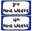 Nine Week's Grading Period Labels