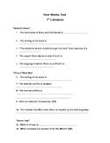 Nine Weeks Test STudy Guide