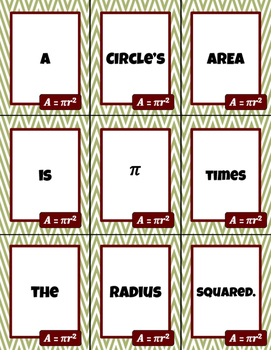 Nine Words for Area and Perimeter - Building Academic Language Through Games