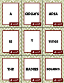 Nine Words for Area and Perimeter - Building Academic Lang