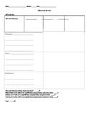 Nine-in-one Grrr! Comprehension Worksheet