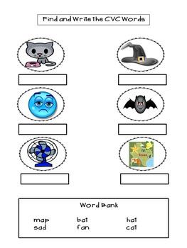Nine months of Homework Packets for Kindergarten!