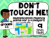 Nines Times Tables: Don't Touch Me! Multiplication Fact Fluency Game