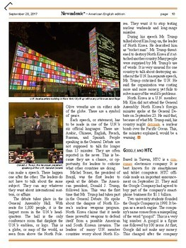CURRENT EVENTS - Germany's election and other international news events