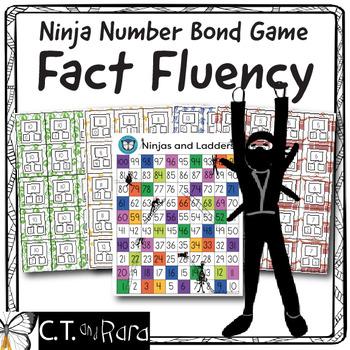 K-2 Math Fact Fluency - Number Bonds (5-20)