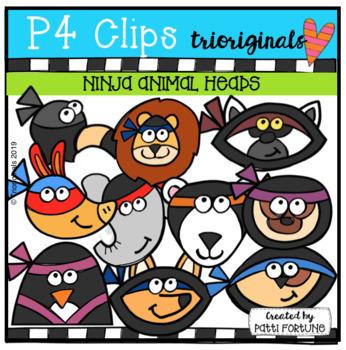 Ninja Animal Heads (P4 Clips Trioriginals)