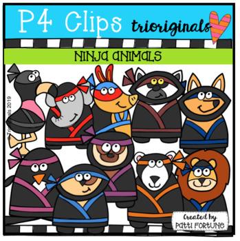 Ninja Animals (P4 Clips)