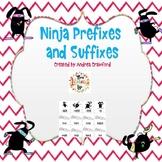 Ninja Bunny Prefixes and Suffixes Activity