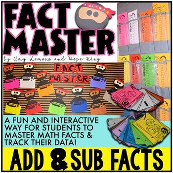 Ninja Fact Master:  Addition & Subtraction Fact Fluency