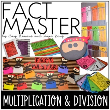 Multiplication and Division Fact Fluency:  Become a Ninja