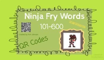 Ninja Fry Word Practice