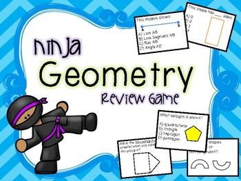 Ninja Geometry Review Game