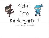 Ninja Kindergarten Readiness Packet - Brigance