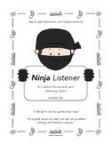Ninja Listener Creative Movement Music Lesson, K - 4