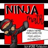 Ninja Math- 3 digit addition and subtraction games
