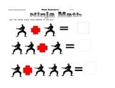 Ninja Math Adding Worksheet
