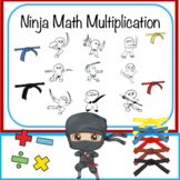 Ninja Math Master - Multiplication Worksheets
