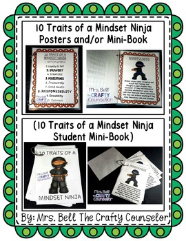 Ninja Mindset (Mindset Matters)(Growth vs. Fixed Mindset)