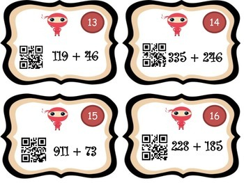 Addition & Subtraction Ninja Number Line! (More Strategies included)