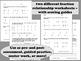 Ninja Numbers - simplifying fractions task cards + printables set