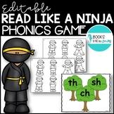 Ninja Phonics Game