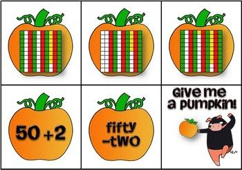 Ninja Pumpkin Snatchers ~ A Halloween Math Game